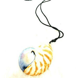 Accessories - Rare Seashell Rustic Tiger Necklace Boracay Beach